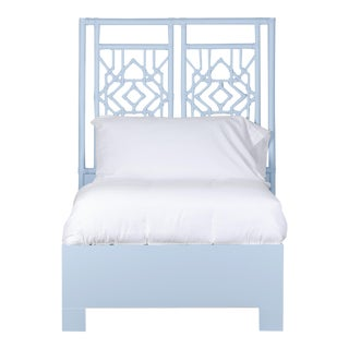Tulum Bed Twin - Blue For Sale