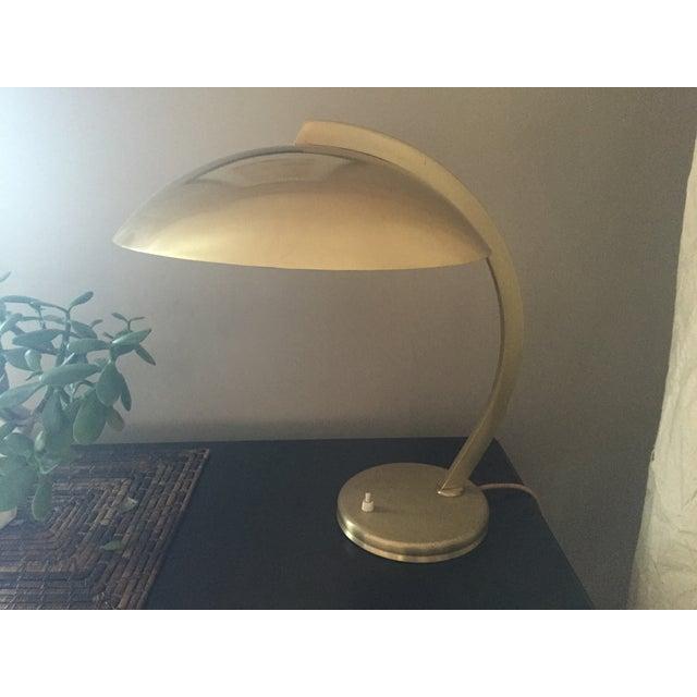 30's Bauhaus Hillebrand Bronze Plated Desk Lamp - Image 3 of 3