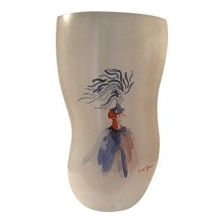 Kosta Boda Tall Catwalk Glass Vase
