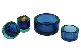 Image of Glass Ashtrays and Catchalls
