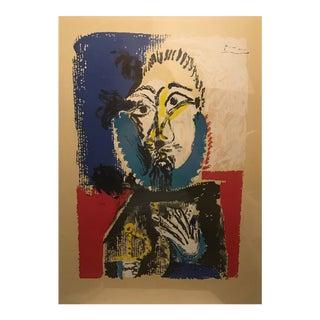 Vintage Pablo Picasso Lithograph Print