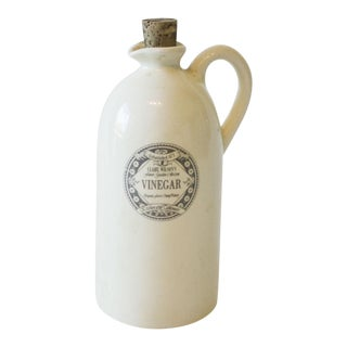 Country Cottage Vinegar Bottle For Sale
