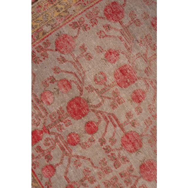 Boho Chic Boho Chic Colorful Khotan Gallery Carpet - 6′8″ × 13′4″ For Sale - Image 3 of 9