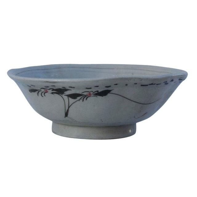 Antique Shanxi Porcelain Bowl For Sale