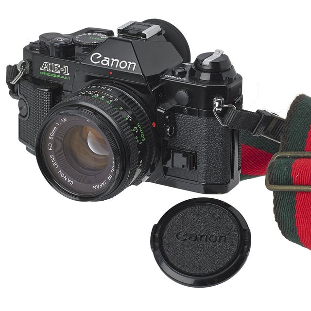 Vintage Canon AE-1 35mm Camera - Image 3 of 3