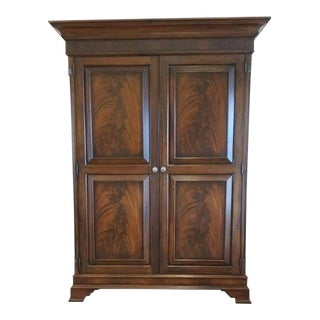 Modern Ethan Allen Newport Entertainment Armoire