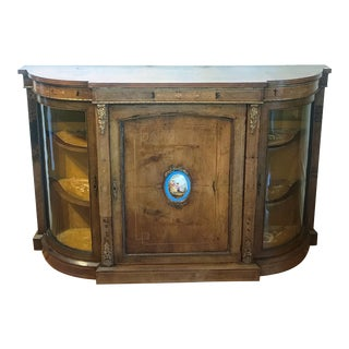 19th Century French Side Cabinet Credenza For Sale