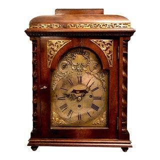 Antique 18th Century Austrian Sonnerie Bracket Clock by Joanes Lukavetzki For Sale