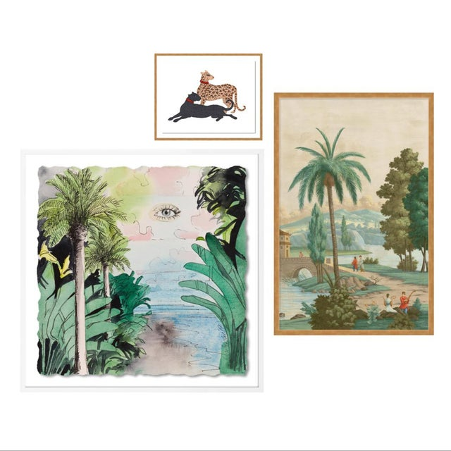 Panorama Gallery Wall, Set of 3 For Sale - Image 10 of 10