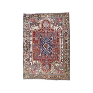 Antique Heriz (Serapi) Carpet (Dk-114-97) For Sale