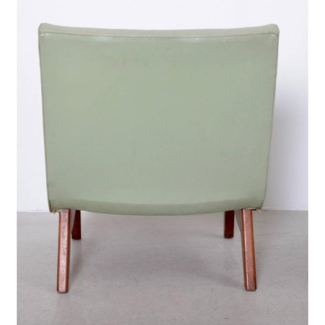 Original Pair of Milo Baughman Scoop Lounge Chairs USA , 1950s For Sale - Image 6 of 6