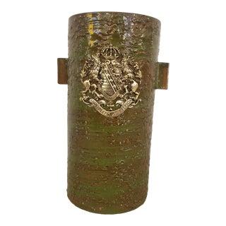 1960s Bitossi for Rosenthal Netter Italian Ceramic Vase For Sale