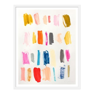 "Medium ""Color Instinct No.1"" Print by Lesley Grainger, 24"" X 30"" For Sale"