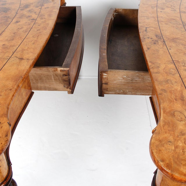 19th Century French Baroque Console Tables - a Pair For Sale In San Francisco - Image 6 of 13