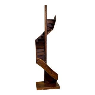 Antique Dutch Revolving Stairway Model For Sale