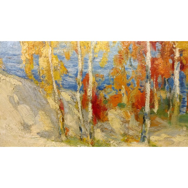 Oil Paint Isabel Hunter - Beautiful Carmel Landscape-California Impressionist-Oil painting For Sale - Image 7 of 10