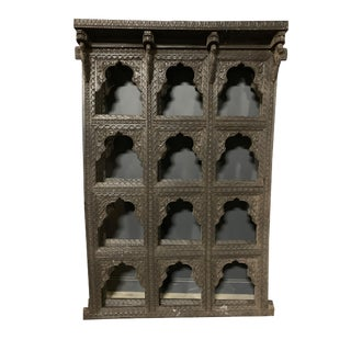 Indian Decorative Wood Panel For Sale