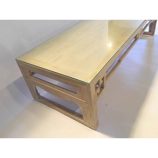 Vintage Keyhole Coffee Table - Image 7 of 7