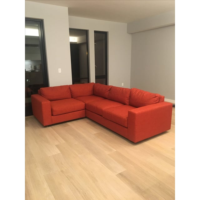 West Elm Cayenne Sectional - Image 2 of 3