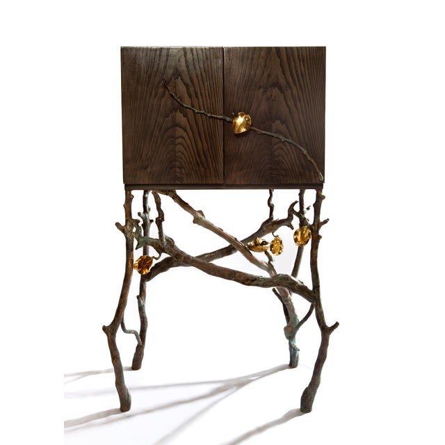 Contemporary Christine Rouviere Small Nest Cabinet For Sale - Image 3 of 3