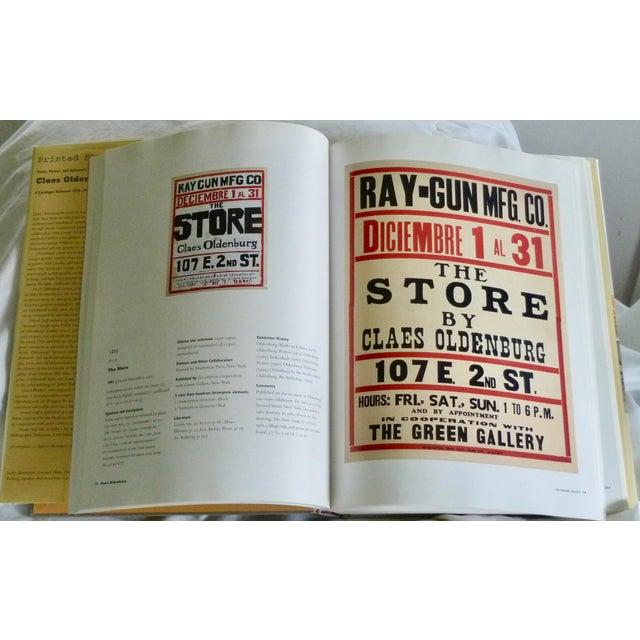 Claes Oldenburg: Catalogue Raisonné Book For Sale In New York - Image 6 of 7