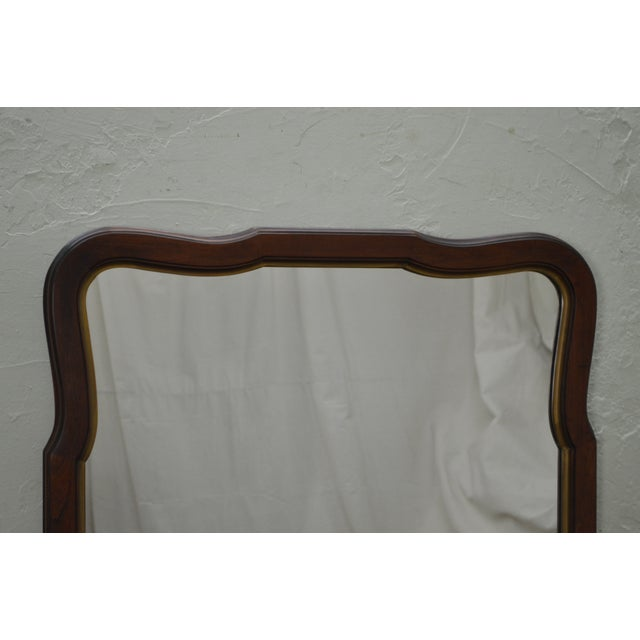Statton Old Towne Cherry Traditional Wall Mirror For Sale - Image 5 of 10