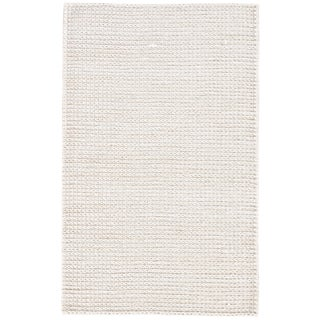 Jaipur Living Calista Natural White Area Rug - 9′ × 12′ For Sale