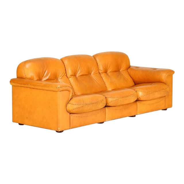 DeSede Leather Sofa For Sale
