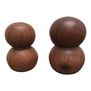 Gunner Cyren for Dansk Teak Salt & Pepper Set