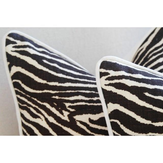 Brunschwig Fils Zebra Pillows - a Pair - Image 8 of 11