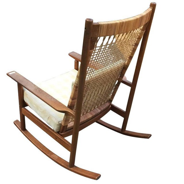 Danish Modern Danish Modern Rocking Chairs by Hans Olsen for Juul Kristiansen For Sale - Image 3 of 6