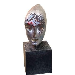 Mid 20th Century Bertil Vallien for Kosta Boda Glass Sculpture For Sale