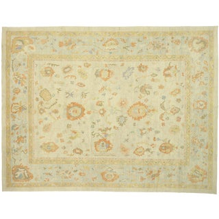 Contemporary Turkish Rug - 14′7″ × 19′ For Sale