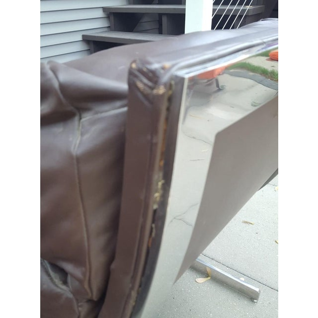 Mid-Century Modern Kipp Stewart for Directional Chrome Lounge Chairs - A Pair For Sale In Chicago - Image 6 of 11