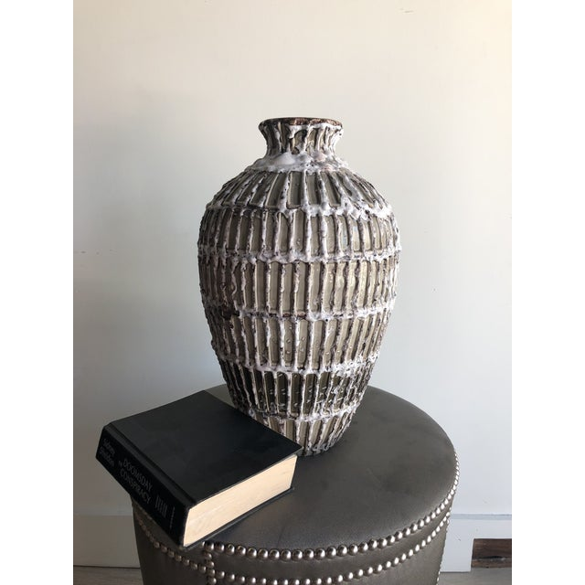 Venuvius Vase by Global Views For Sale In Miami - Image 6 of 7
