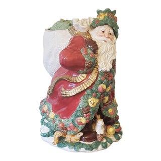 Fitz & Floyd Large Woodland Santa For Sale