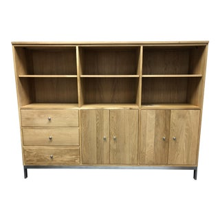 Room & Board Custom Linear White Oak Cabinet