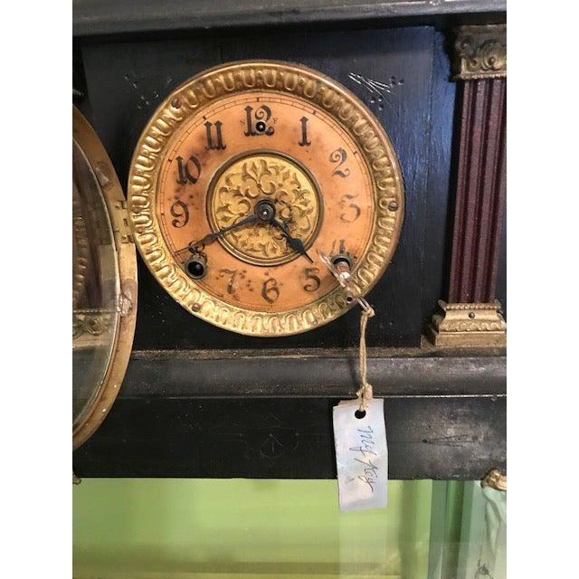 Art Nouveau 1911 Mantle Clock by Wm. L. Gilbert Clock Co. For Sale - Image 3 of 8