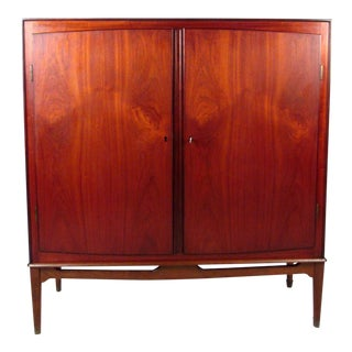 Danish Modern Teak Cabinet For Sale
