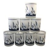 Image of Georges Briard America's Cup Sailboat Cocktail Glasses - Set of 8 For Sale