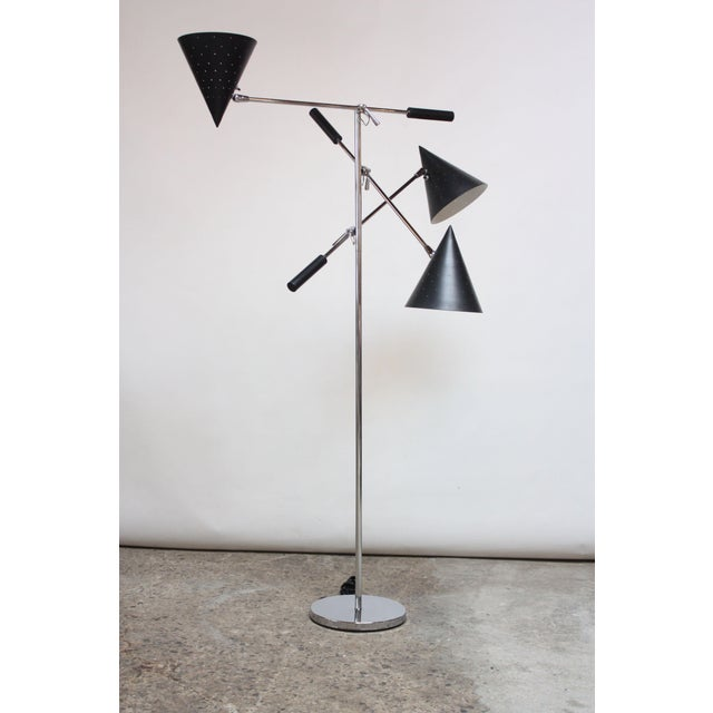 Lightolier Triennale Style Floor Lamp by Lightolier For Sale - Image 4 of 12
