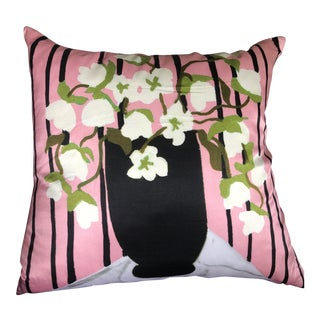 Kate Spade Flower Pillow For Sale