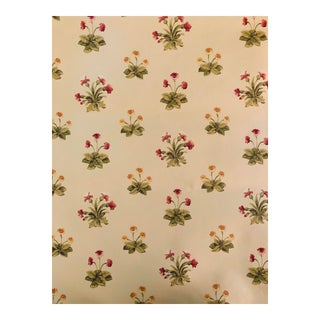 "Vintage Colefax and Fowler Floral ""Jessica"" Wallpaper For Sale"
