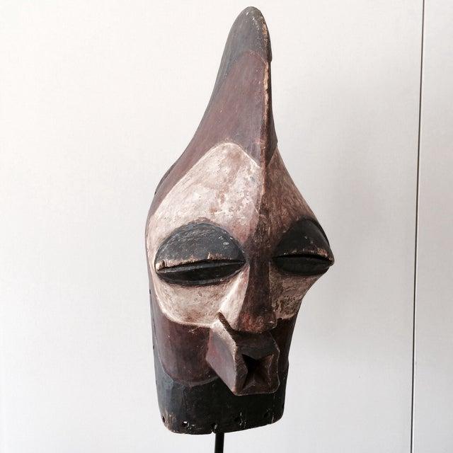 """Antique Songeye Kiwebe """"Police"""" Tribal Mask - Image 2 of 4"""