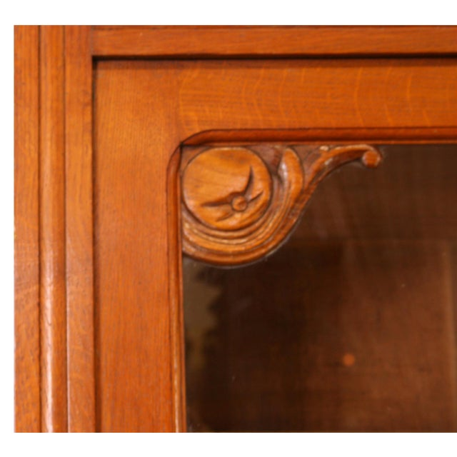 Vintage French Cabinet & Hutch For Sale In Columbia, SC - Image 6 of 8