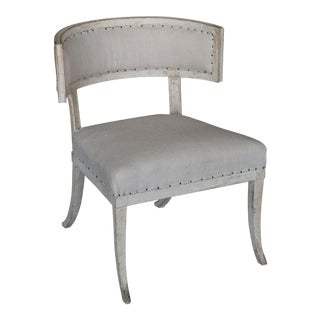 Antique 18th Century Large Gustavian Klismos Chair For Sale
