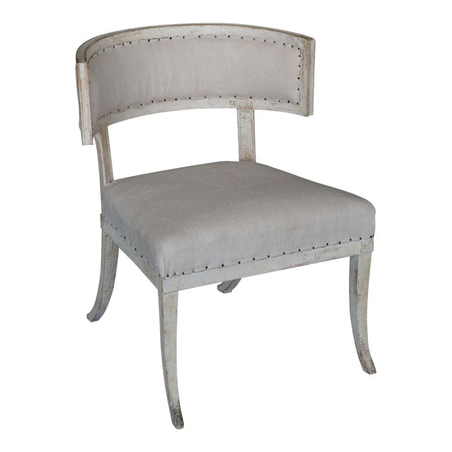 Antique 18th Century Large Gustavian Klismos Chair - Image 1 of 6