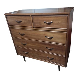 Mid-Century Modern Dixie Wood Dresser For Sale