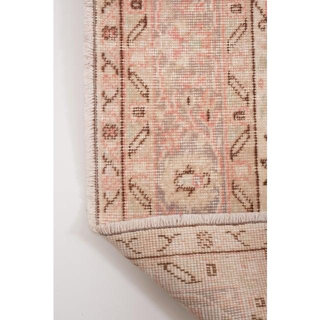 """Vintage Floral Woolen Sparta Rug 6' X 8'9"""" For Sale - Image 10 of 11"""