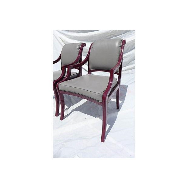 1990s Century Hickory Armchairs - Pair For Sale - Image 5 of 7